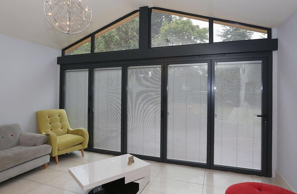 aluminium bi-fold doors guildford