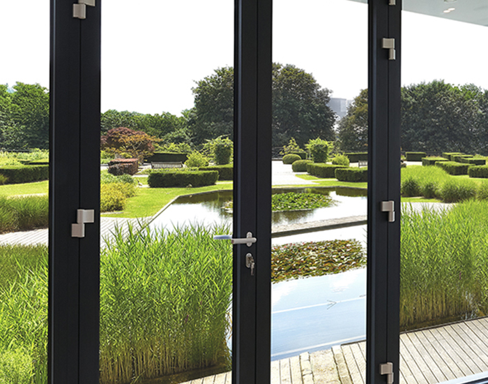 Aluminium French doors Surrey