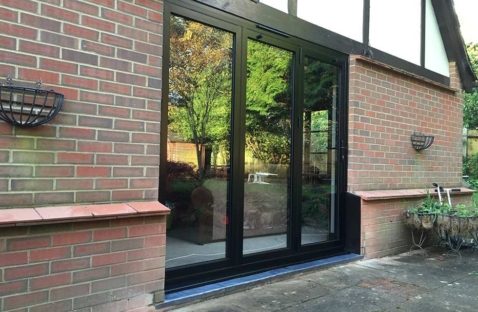 Supply Only Double Glazing - Bi-Fold Doors
