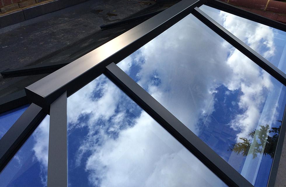 aluminium conservatory roof sutton