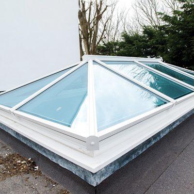 White Roof Lantern