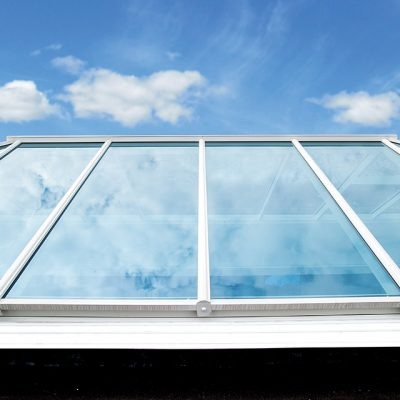 White Conservatory Roof