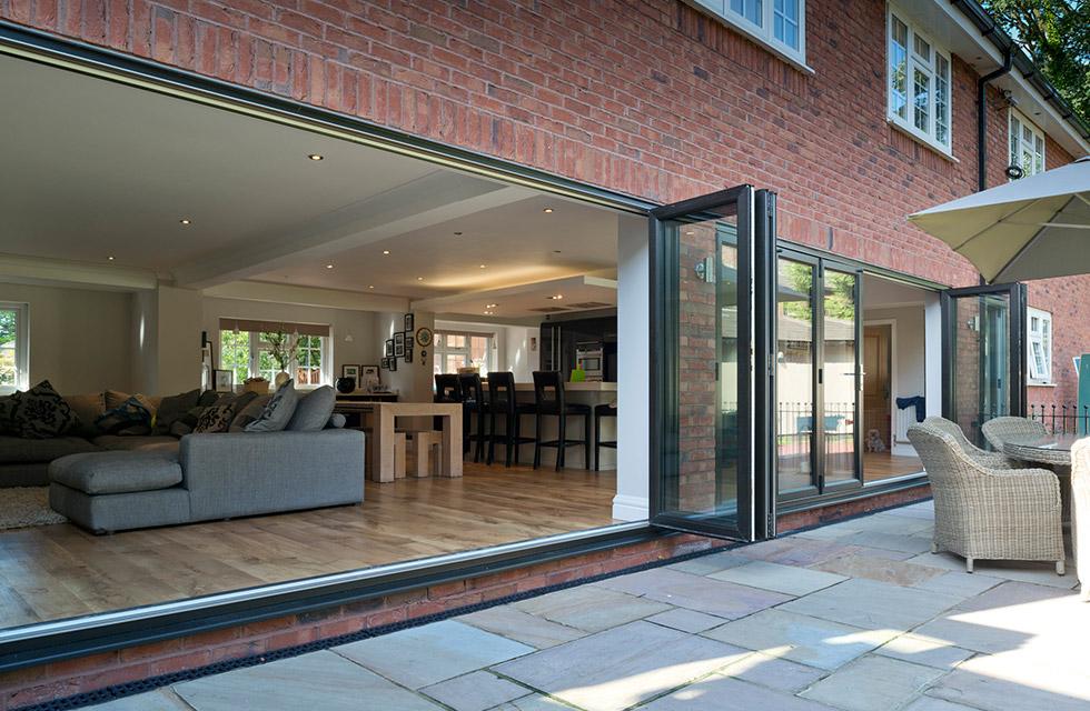 maidenhead aluminium bi-fold doors