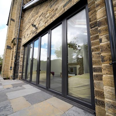 Anthracite Grey Bifold Doors