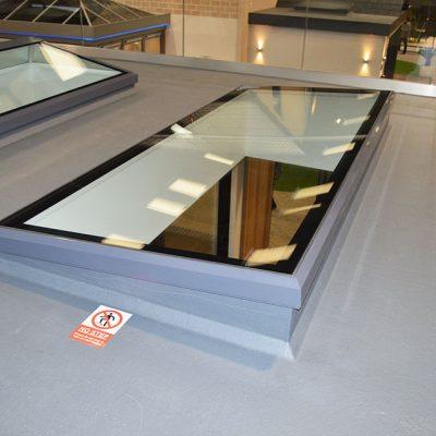 Flat Lantern Roof