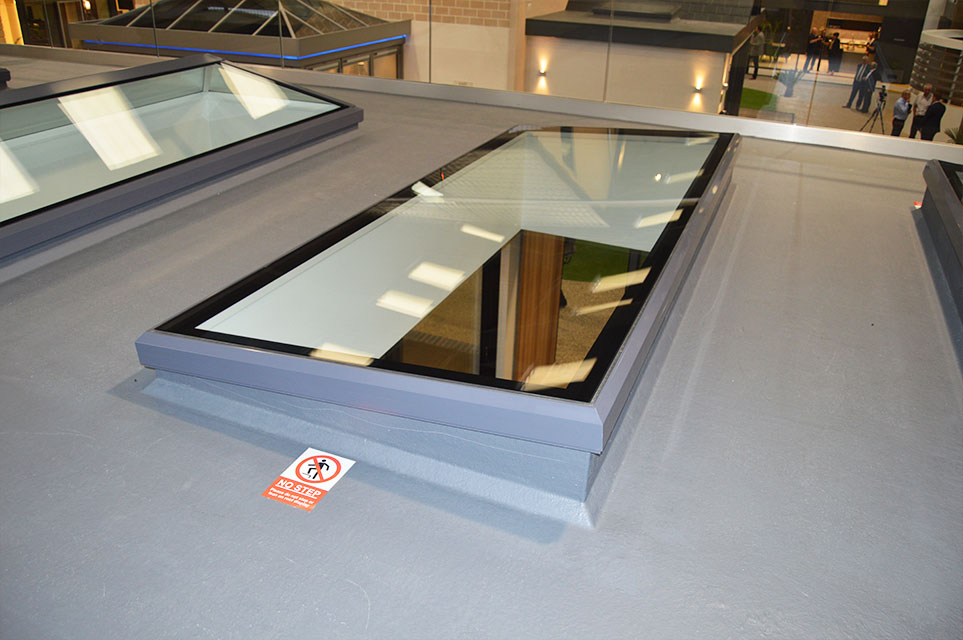 flat lantern roofs guildford