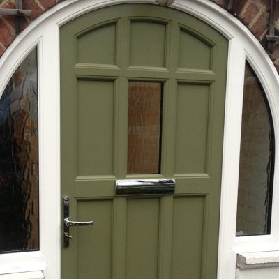 Khaki Composite Door
