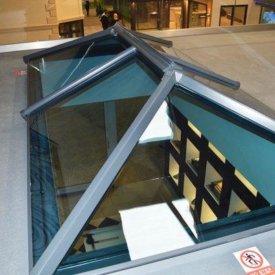Modern Lantern Roof