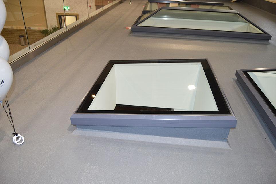Square Lantern Roof
